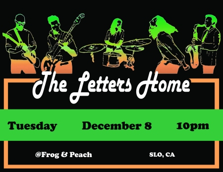 The Letters Home 151208 Frog and Peach black